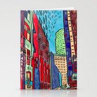Back Alleys Aren't So Ba… Stationery Cards