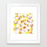 Flowering #3 Framed Art Print
