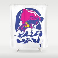 Taco Smudge Shower Curtain