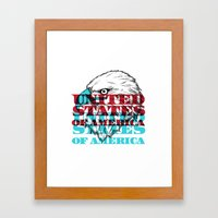 My United States Framed Art Print