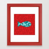 In Psyd Out Fish Framed Art Print