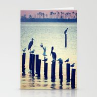Evening Peace Stationery Cards