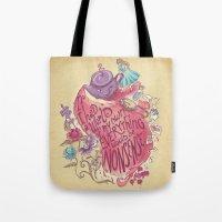 Lewis Carroll Tote Bag