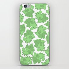 The Zilla Gang iPhone & iPod Skin