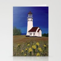 Cape Blanco lighthouse/ Oregon Stationery Cards