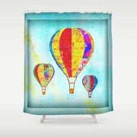 Beautiful Balloons Mosai… Shower Curtain