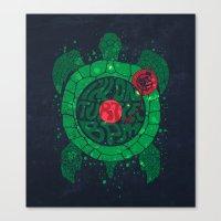 On Turtle BPM Canvas Print