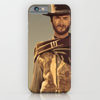 iPhone & iPod Case featuring Clint Eastwood by Thousand Lines Ink