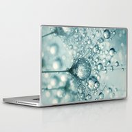 Droplets & Sparkles Laptop & iPad Skin