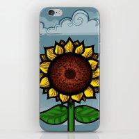 kitschy sunflower iPhone & iPod Skin