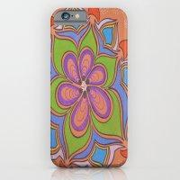 Drops And Petals 4 iPhone 6 Slim Case