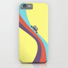 Funny Bug Bites Candy Colored Stripes iPhone 6 Slim Case