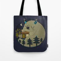 Home is where the monsters are Tote Bag