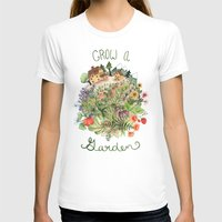 Grow A Garden Womens Fitted Tee White SMALL