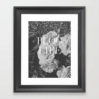 blog and/or thug life Framed Art Print