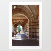 UCLA Art Print