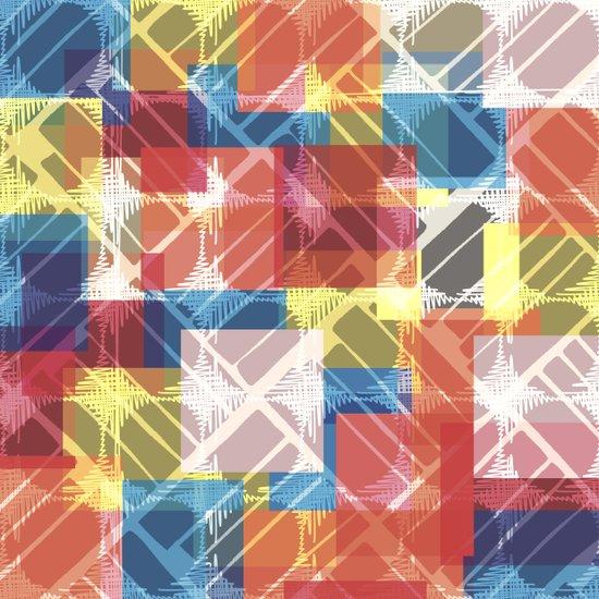 squares n holes... Canvas Print