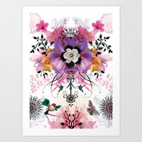 Flower Love Art Print