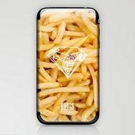 Diamonds & French Fries iPhone & iPod Skin