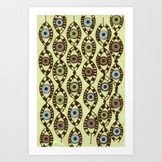 all eyes Art Print