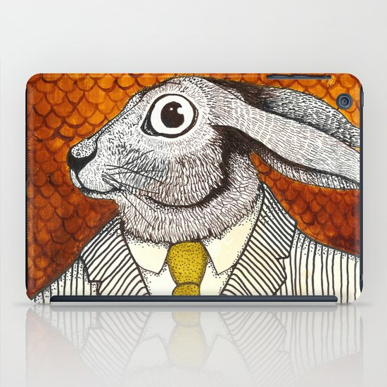 El conejo careta iPad Case