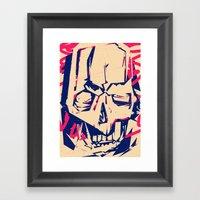 Refuse Framed Art Print