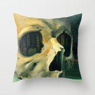 Civilizations Oil Painti… Throw Pillow