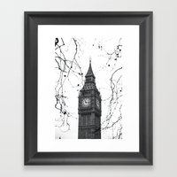 Large Ben Framed Art Print