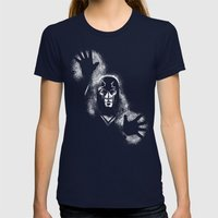 Erik the Magnus Womens Fitted Tee Navy SMALL