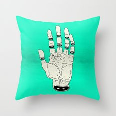 THE HAND OF DESTINY / LA MANO DEL DESTINO Throw Pillow