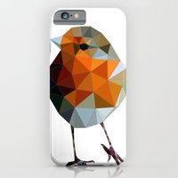 Christmas Poly Robin iPhone 6 Slim Case