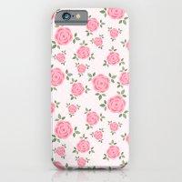 Pink Flowers Pattern iPhone 6 Slim Case