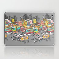 Laptop & iPad Skin featuring Digital Ruins Our Life by Yoshi Andrian