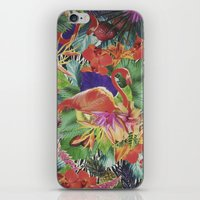 TROPICAL LOVE iPhone & iPod Skin