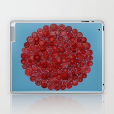 Red on Blue Laptop & iPad Skin