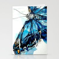 Mighty Morpho Butterfly Stationery Cards