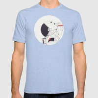 GOD IS AN ASTRONAUT Mens Fitted Tee Tri-Blue SMALL
