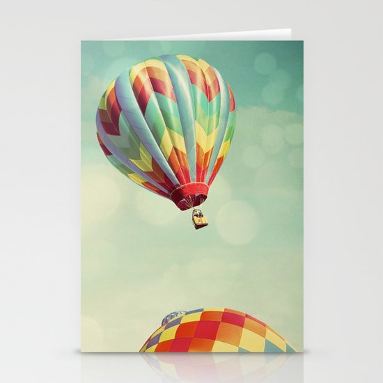 Perfect Dream - Hot Air Balloons Stationery Card