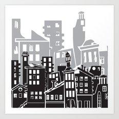 Skyscrapers No. 5 Art Print
