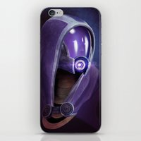 Mass Effect: Tali'Zorah vas Normandy iPhone & iPod Skin