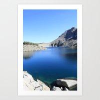 Anna Lake Art Print