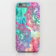 Round & Round The Rainbo… iPhone 6 Slim Case