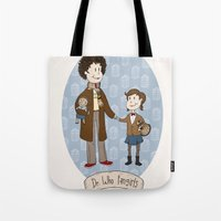 Dr Who Fangirls Tote Bag