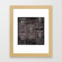 Elixir. Framed Art Print
