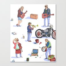 Music Poster! Canvas Print