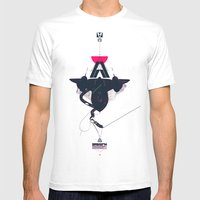 STEALTH:SR-71 Blackbird Mens Fitted Tee White SMALL