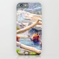 iPhone & iPod Case featuring Wild Bears by Kamiledesigns