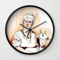 Carpicorn (Zodiac series) Wall Clock