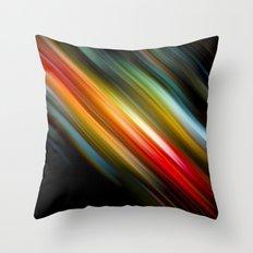 Color lagoon Throw Pillow