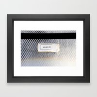 You Are Be... Framed Art Print